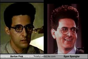 Barton Fink Totally Looks Like Egon Spangler