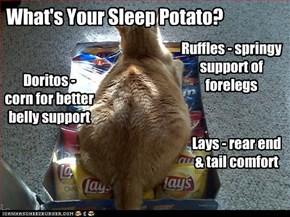 What's Your Sleep Potato?