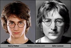 Harry Potter Totally Looks Like John Lennon