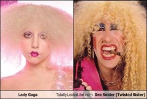Lady Gaga Totally Looks Like Dee Snider (Twisted Sister)