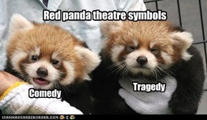 Red panda theatre symbols