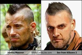 Johnny Messner  Totally Looks Like Sev from Killzone 2