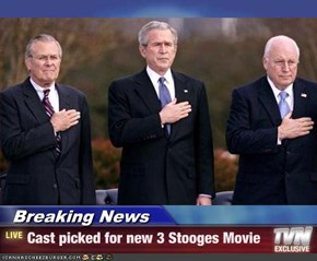 Breaking News - Cast picked for new 3 Stooges Movie