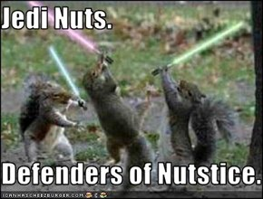 Jedi Nuts.  Defenders of Nutstice.