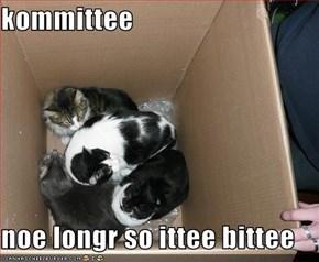 kommittee  noe longr so ittee bittee