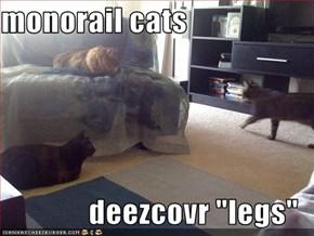 """monorail cats  deezcovr """"legs"""""""