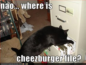 nao... where is  cheezburger file?