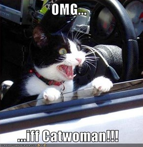 OMG...  ...iff Catwoman!!!