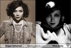 Maggie Gyllenhaal Totally Looks Like Vilma Banky