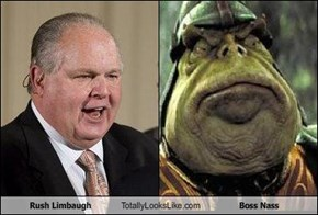 Rush Limbaugh Totally Looks Like Boss Nass