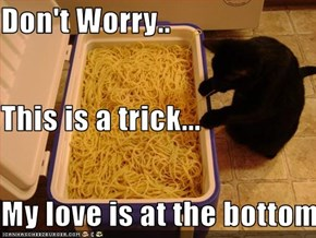 Don't Worry.. This is a trick... My love is at the bottom....