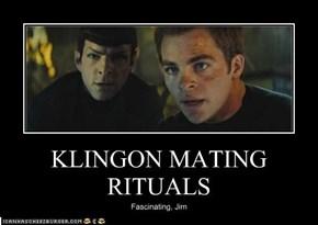 KLINGON MATING RITUALS