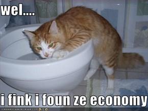 wel....  i fink i foun ze economy