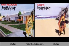 Suffer Totally Looks Like Surfer