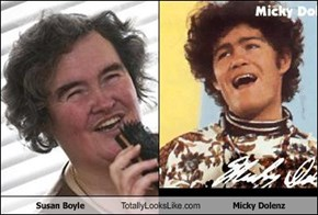 Susan Boyle Totally Looks Like Micky Dolenz