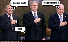 George that smell !!