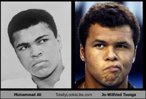 Muhammad Ali Totally Looks Like Jo-Wilfried Tsonga