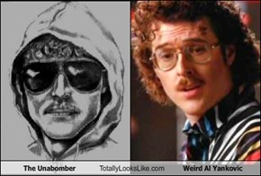 The Unabomber Totally Looks Like Weird Al Yankovic