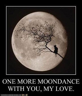 ONE MORE MOONDANCE WITH YOU, MY LOVE.