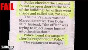 Criminal Fail