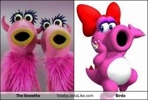 The Snowths Totally Looks Like Birdo
