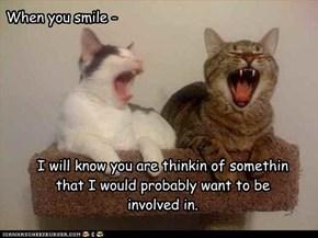 When you smile -