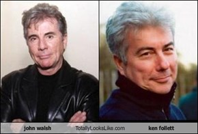 john walsh Totally Looks Like ken follett