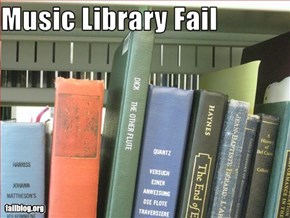 Music Library Fail
