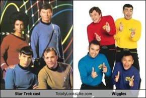 Star Trek cast Totally Looks Like Wiggles
