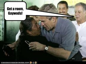 Get a room, Gaywods!