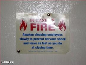 Fire Evacuation Fail