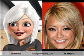 Ginormica Totally Looks Like Tila Tequila