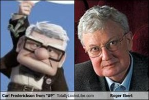 "Carl Frederickson from ""UP"" Totally Looks Like Roger Ebert"