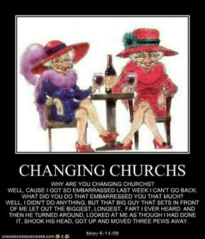 CHANGING CHURCHS