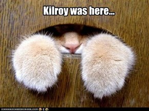 Kilroy was here...