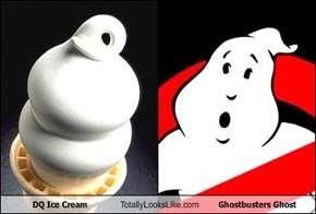 DQ Ice Cream Totally Looks Like Ghostbusters Ghost