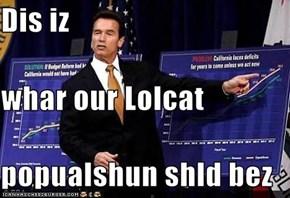 Dis iz whar our Lolcat popualshun shld bez