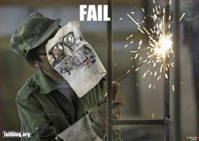Welding Safety Fail!
