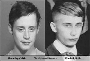 Macaulay Culkin Totally Looks Like Vladimir Putin