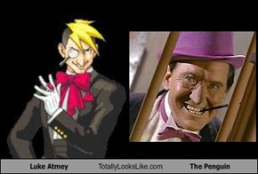 Luke Atmey Totally Looks Like The Penguin