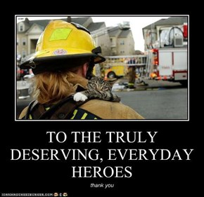 TO THE TRULY DESERVING, EVERYDAY HEROES