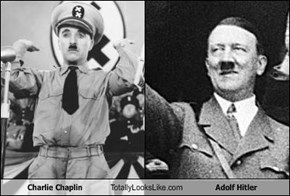 Charlie Chaplin Totally Looks Like Adolf Hitler