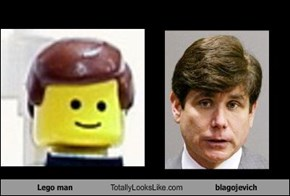Lego man Totally Looks Like blagojevich