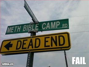 Road Name/Bible School Fail