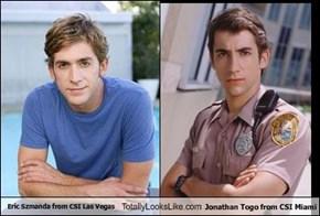 Eric Szmanda from CSI Las Vegas Totally Looks Like Jonathan Togo from CSI Miami