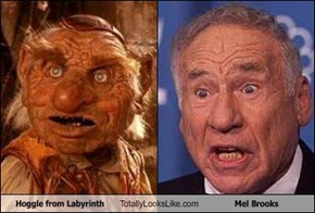 Hoggle from Labyrinth Totally Looks Like Mel Brooks