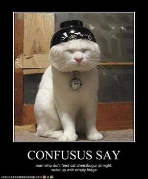 CONFUSUS SAY