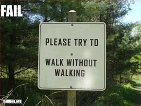 Forest Sign Fail