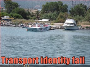 Transport identity fail
