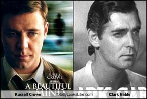 Russell Crowe Totally Looks Like Clark Gable